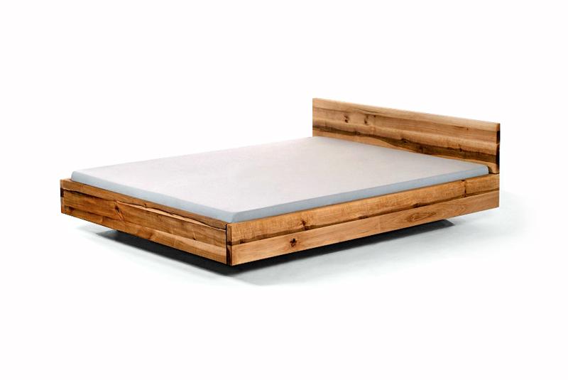 ausverkauf designerbett pool 120x200 massivholz uvp1389 holzbett bett neu ebay. Black Bedroom Furniture Sets. Home Design Ideas