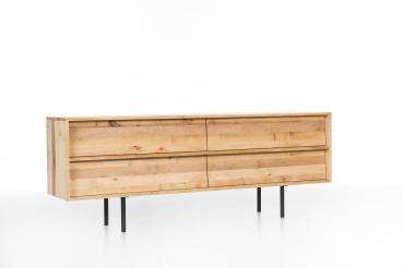 mazzivo m bel outlet i zeitlose designerbetten ab werk sideboard 2 2 aus massivholz. Black Bedroom Furniture Sets. Home Design Ideas