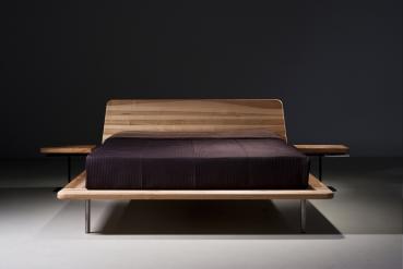 Mazzivo m bel outlet i zeitlose designerbetten ab werk letto vintage bett design massiv aus - Letto 120 x 200 ...