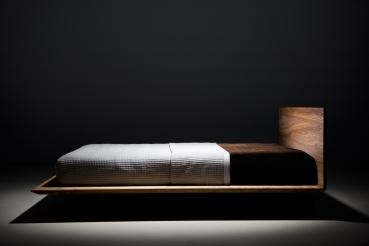 SLIM Bett Design Schlicht U0026 Modern Aus Massivholz Edler Eleganter Klassiker